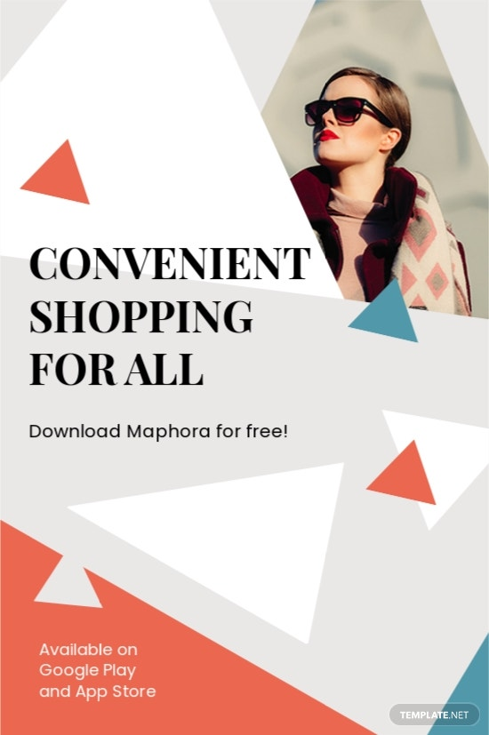 Online Store Tumblr Post Template
