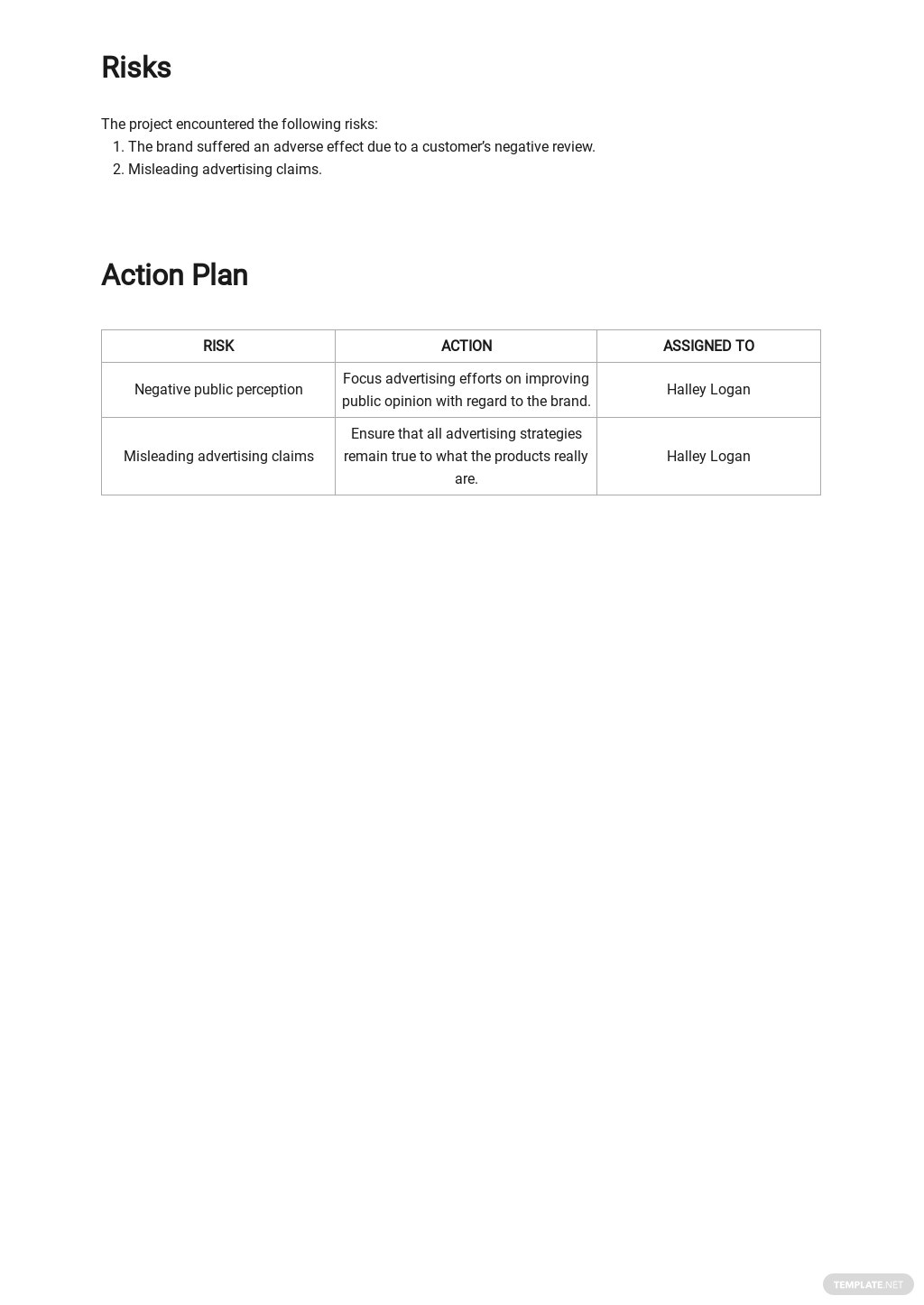 Editable Advertising Agency Monthly Client Report Template 3.jpe