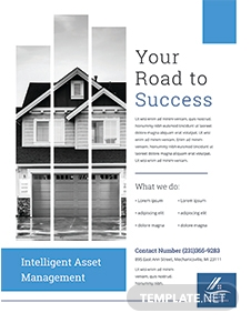 Property Management Flyer Template