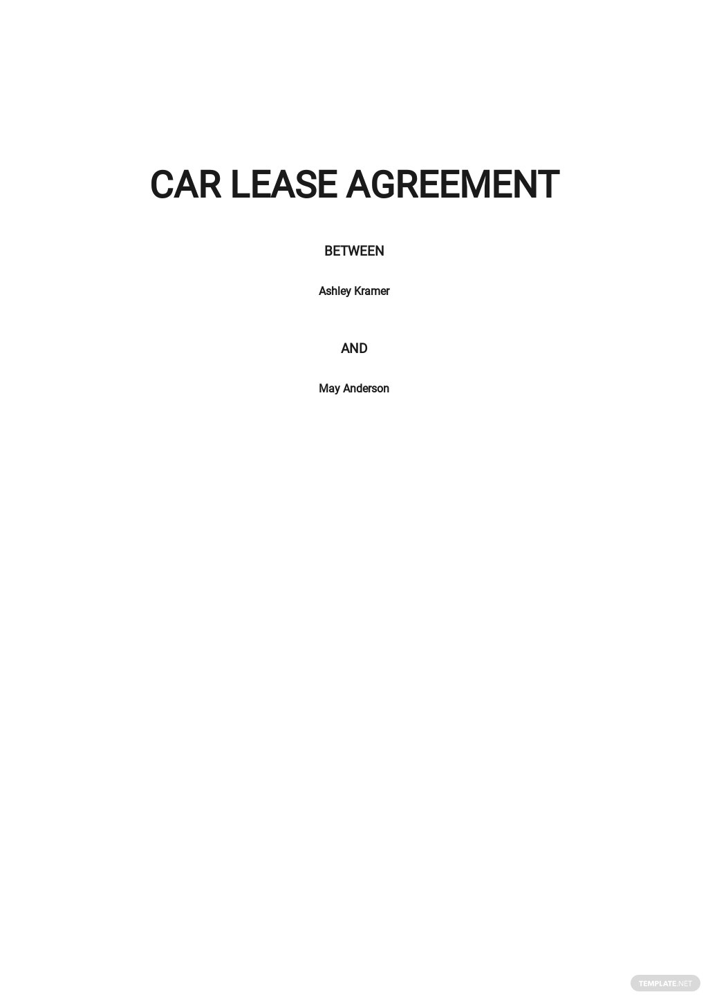 Free Car Lease Agreement Template.jpe