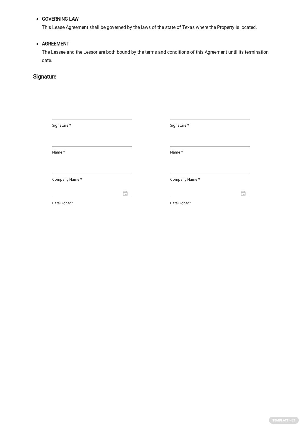 Free Commercial Lease Agreement Template 2.jpe