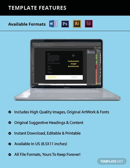 Bifold Free Basic Advertising Agency Brochure Template Guide