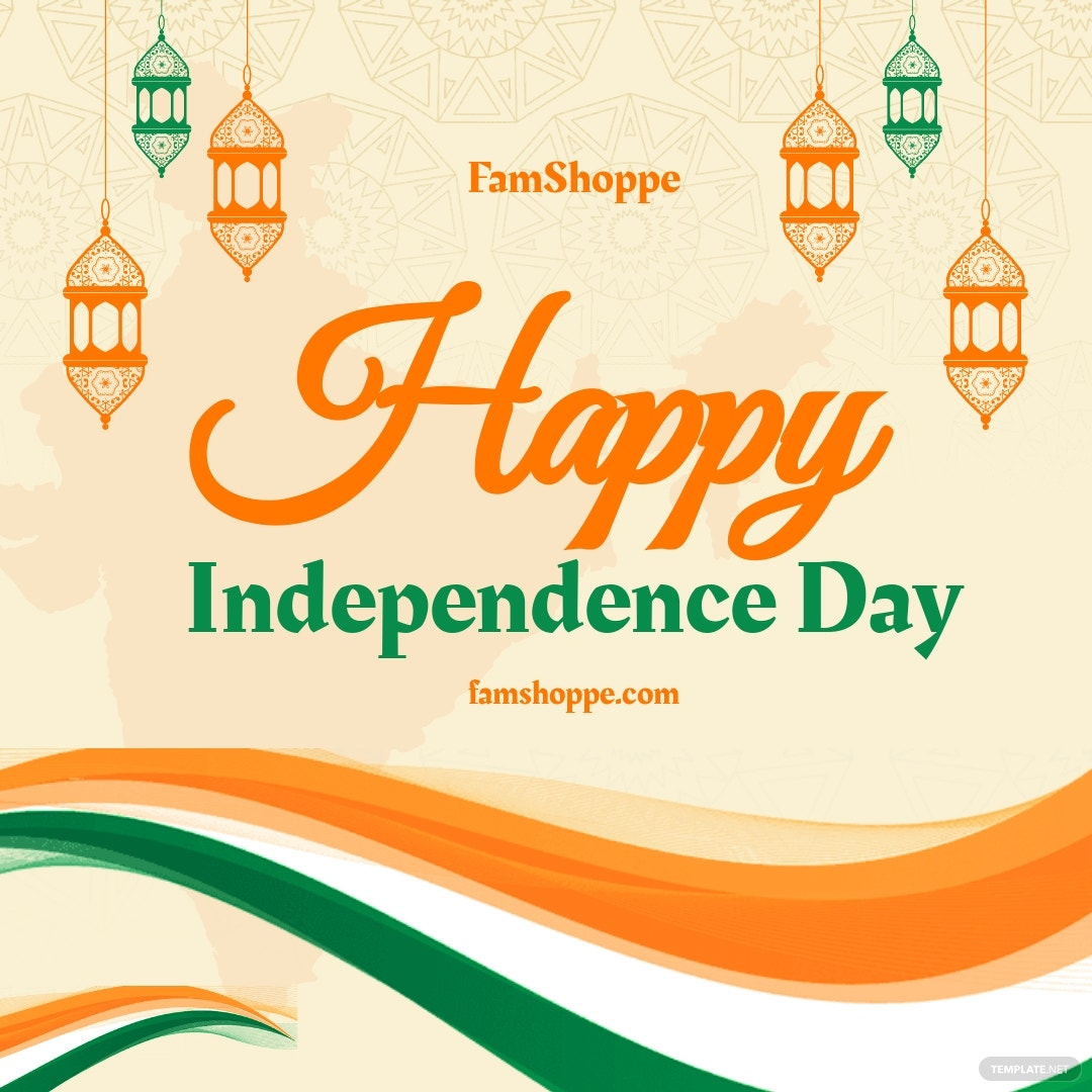 Happy Independence Day Instagram Post Template.jpe