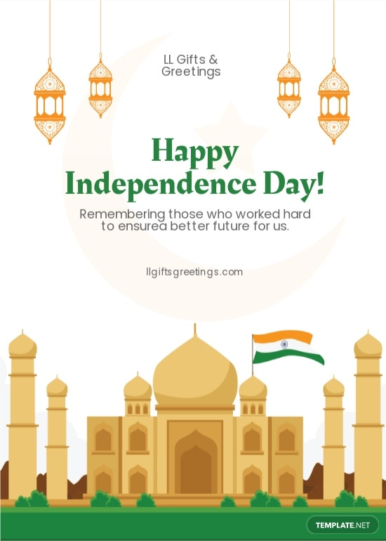 Independence Day Card Template.jpe