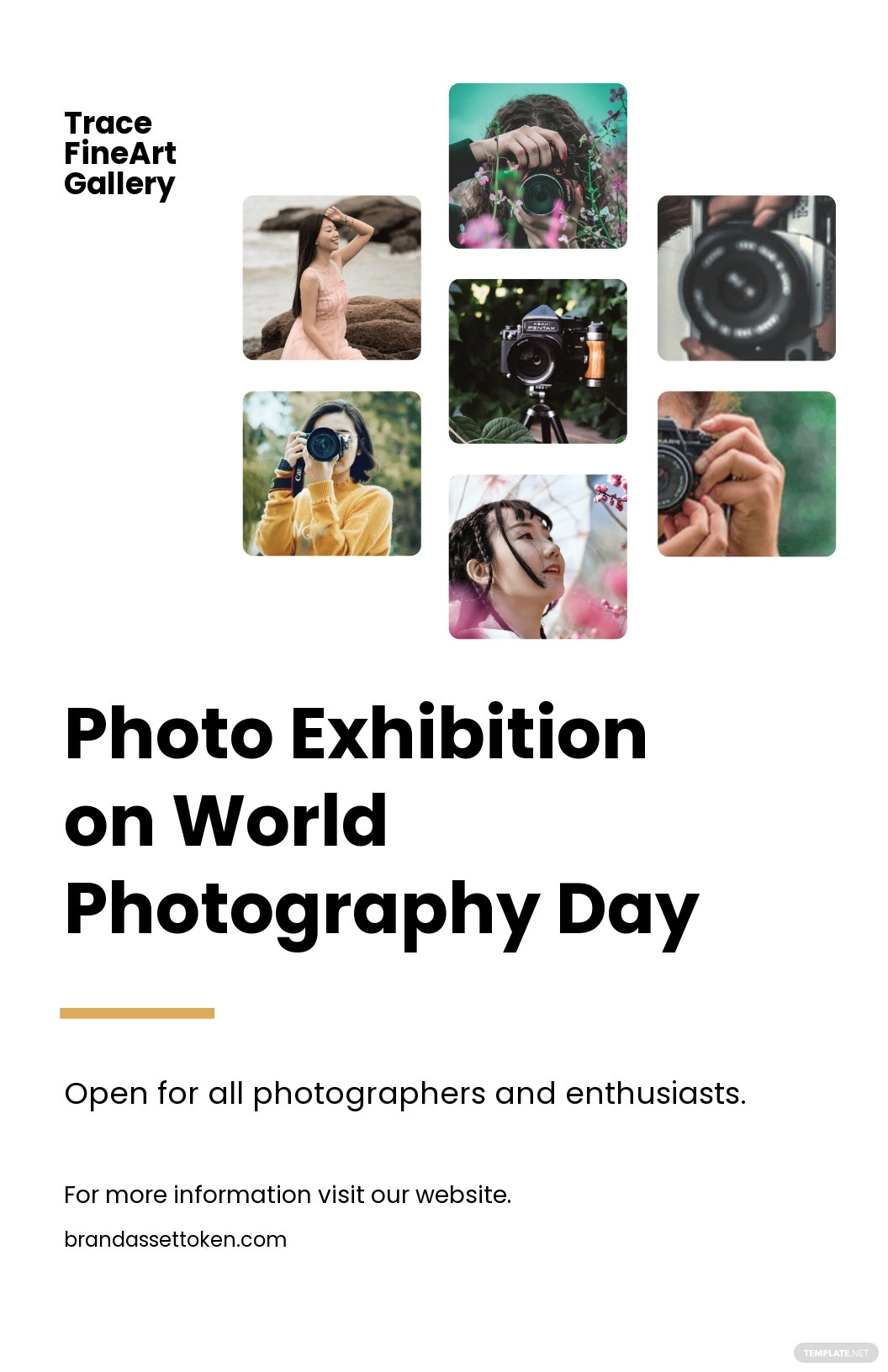 World Photography Day Poster Template.jpe