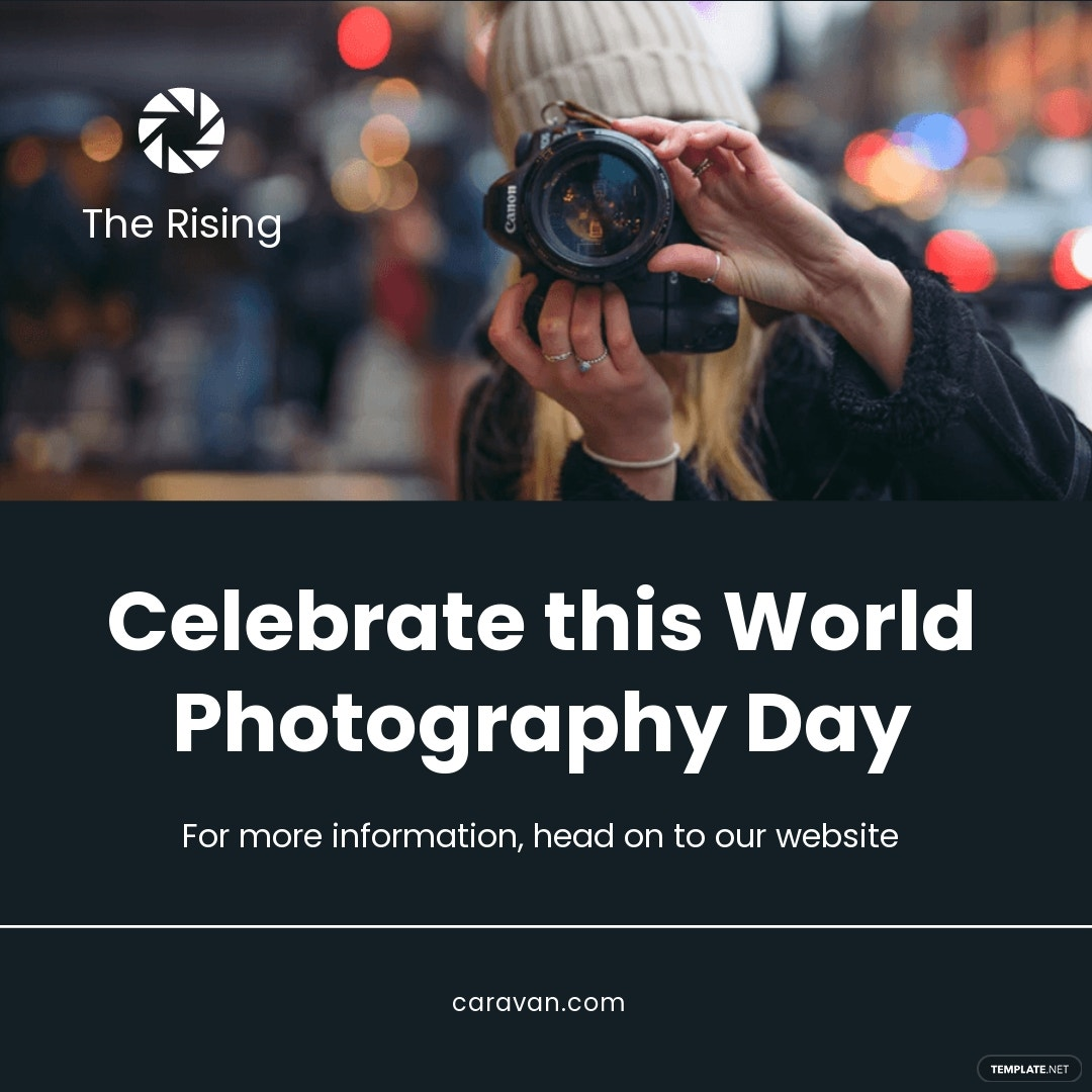 World Photography Day Instagram Post Template.jpe