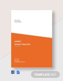 Agency Market Analysis Template
