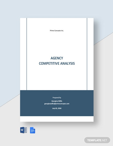 Agency Competitive Analysis