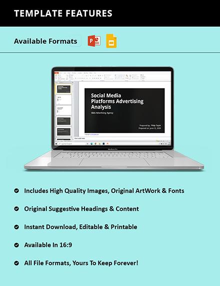 Free Simple Advertising Agency Presentation Format
