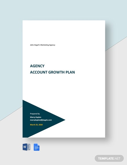 Agency Account Growth Plan