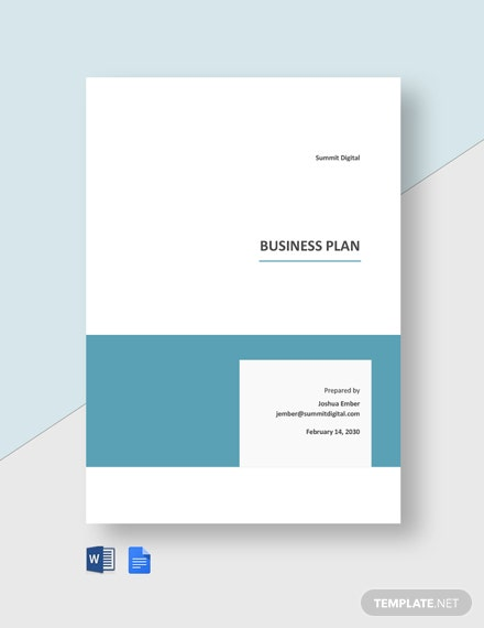 Sample Agency Plan Template