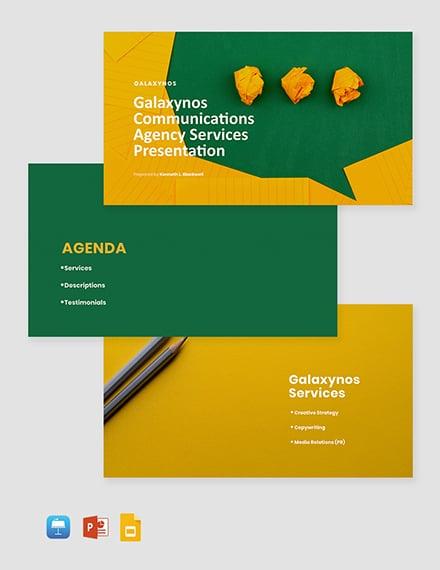 Agency Capabilities Presentation Template