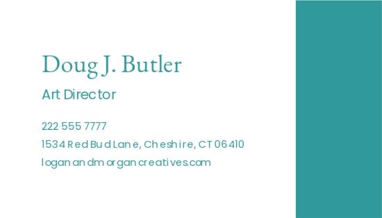 Simple Advertising Agency Business Card Template 1.jpe
