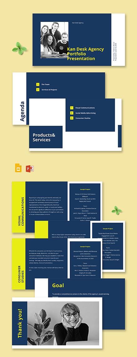 Advertising Agency Portfolio Presentation