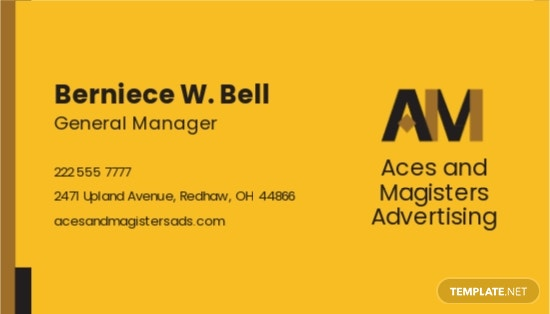 Professional Agency Business Card Template 1.jpe