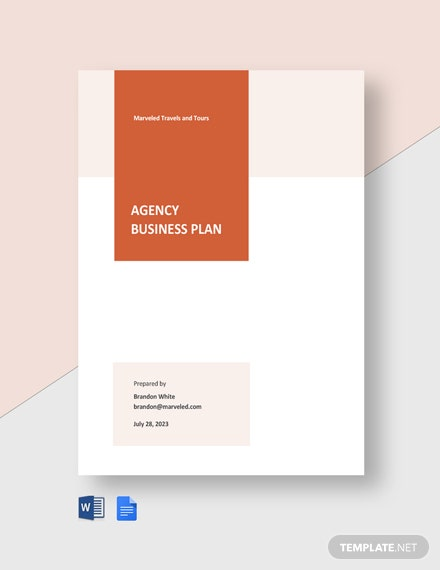 Free Simple Agency Plan Template