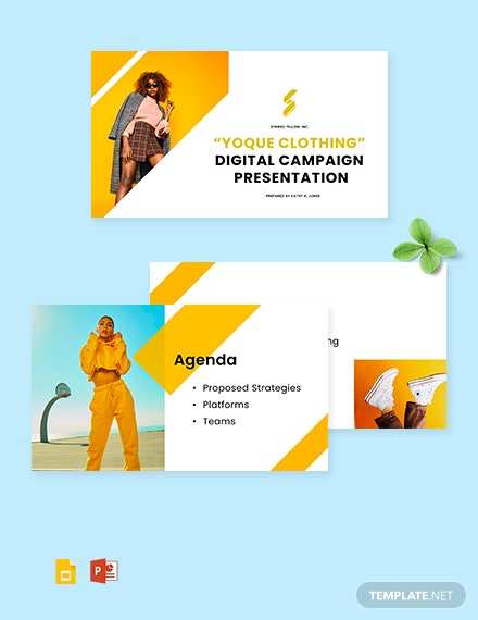 Advertising Agency Presentation Template