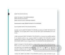 Free Letter Template of Recommendation for a Co-Worker