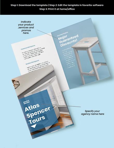 Creative BiFold Agency Brochure Format