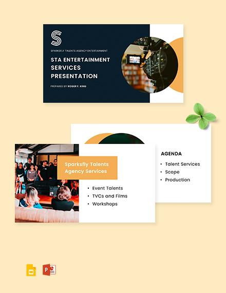 Professional Agency Presentation