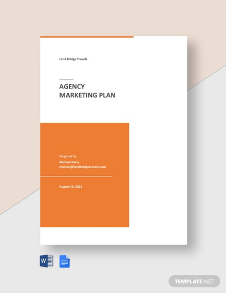 Agency Marketing Plan Template