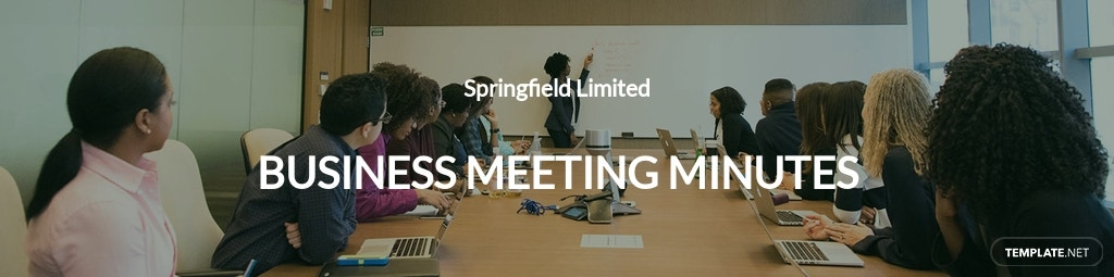 Free Business Meeting Minutes Template.jpe