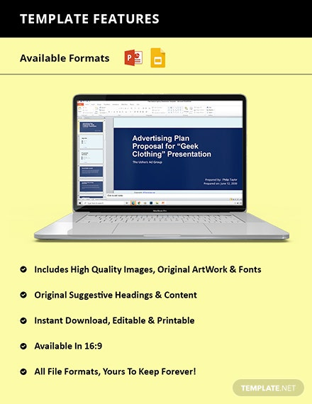 Free Sample Agency Presentation Template Format