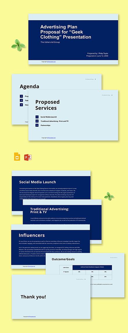 Free Sample Agency Presentation Template