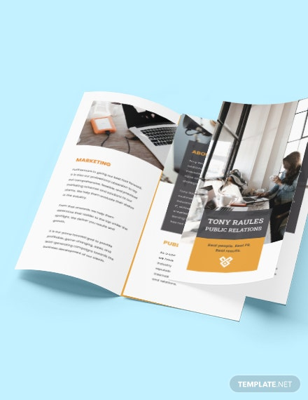 Trifold Business Agency Brochure Printable