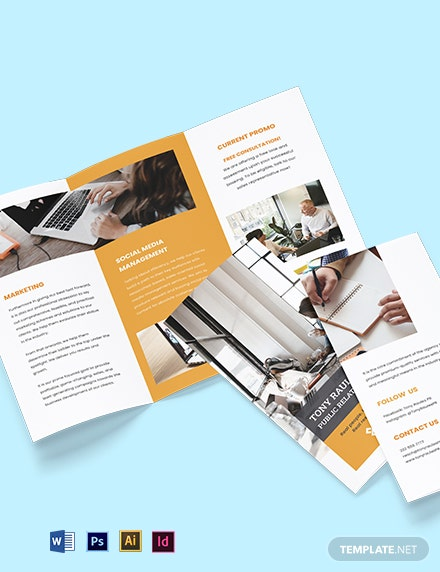 Trifold Business Agency Brochure