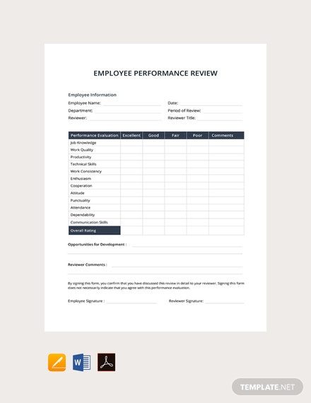 product review template word