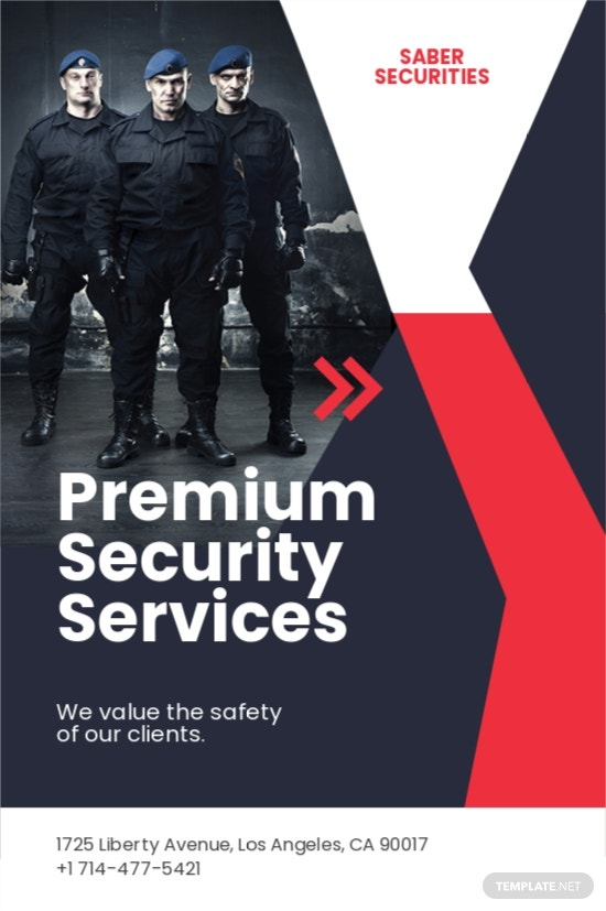 Security Guard Services Tumblr Post Template