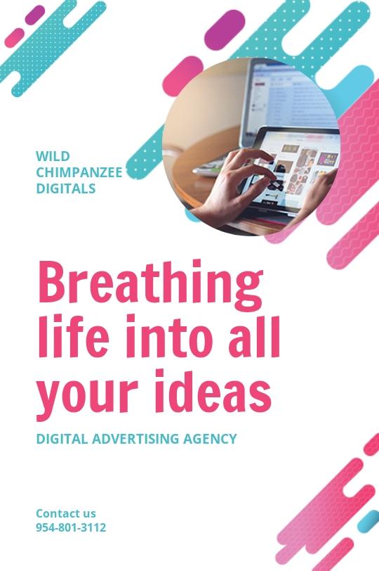 Digital Advertising Agency Tumblr Post Template