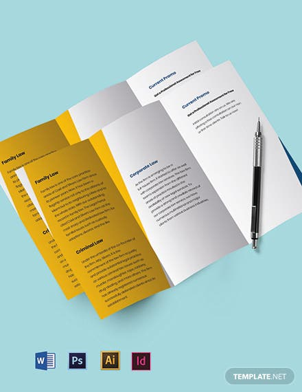 Agency Trifold Firm Brochure