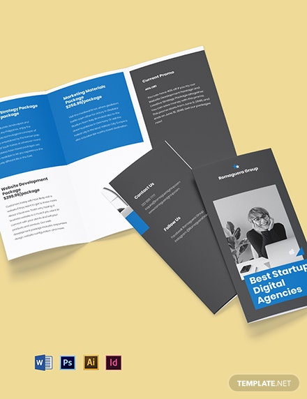 StartUp Agency TriFold Brochure
