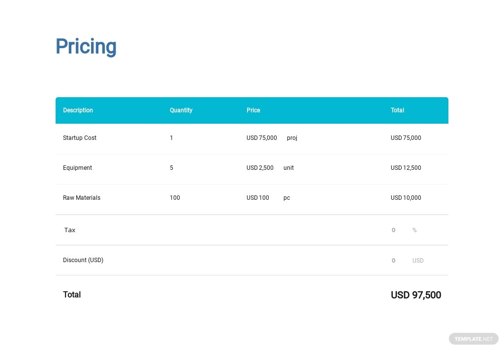 New Business Startup Proposal Template 3.jpe