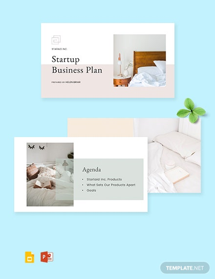 Startup Business Plan PowerPoint Presentation Template