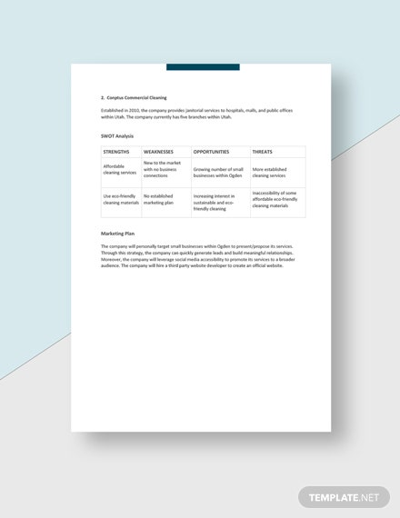 Executive Summary Startup Business Plan Download