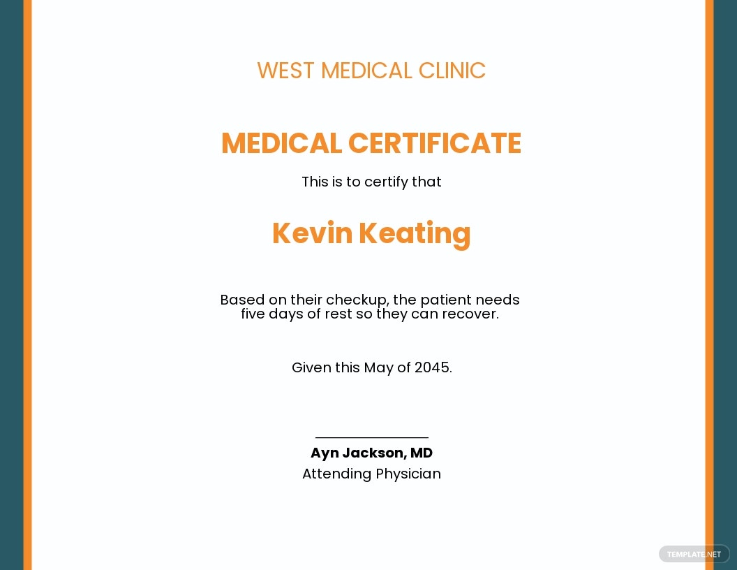 Doctor Certificate for Medical Leave Template.jpe