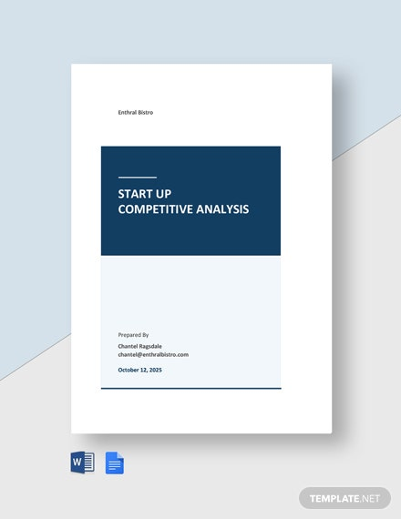 Startup Competitive Analysis