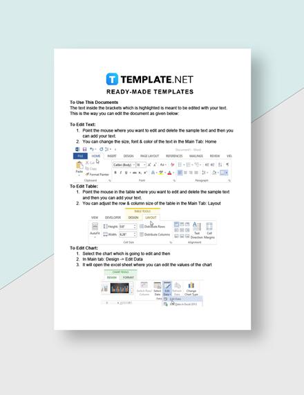 Company Startup Checklist Template  - Google Docs, Word