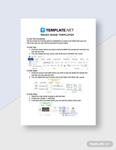 Lean Startup Checklist Template  - Google Docs, Word