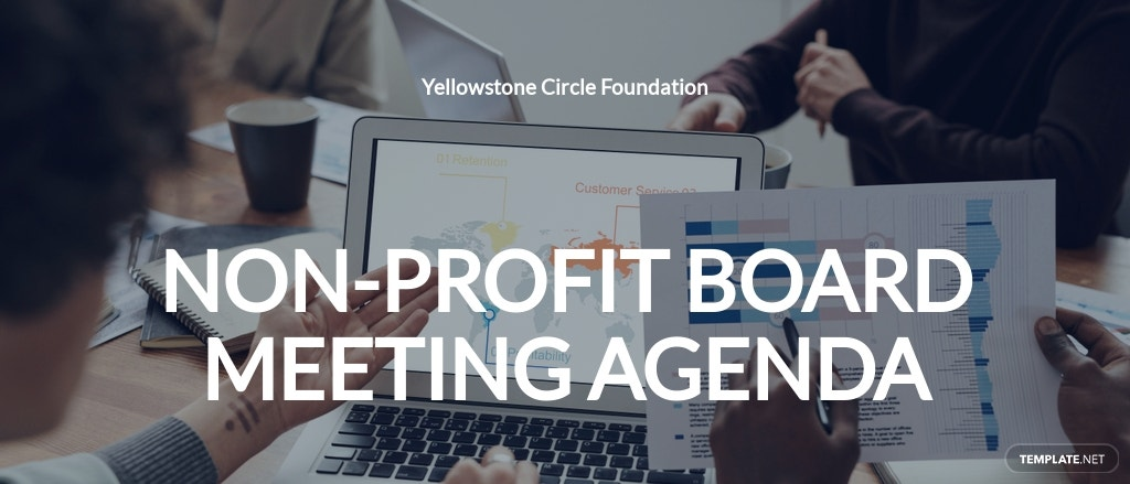 Non Profit Board Meeting Agenda Template
