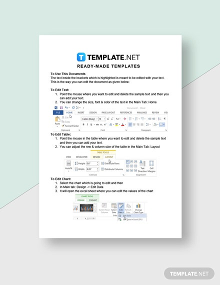 Software Startup Invoice Template