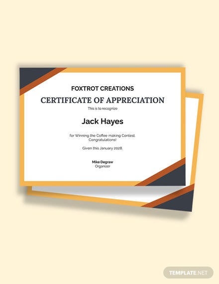 Printable Congratulations Certificate