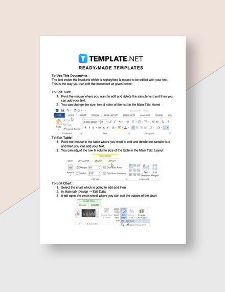 Startup Budget Sheet Template