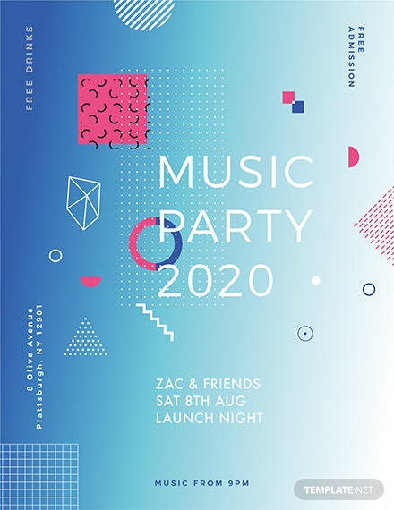 club promotion flyer template - Free Flyer Design Templates