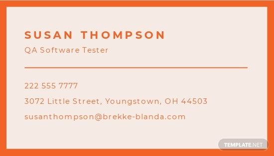 Business Card for Startup Business Template 1.jpe