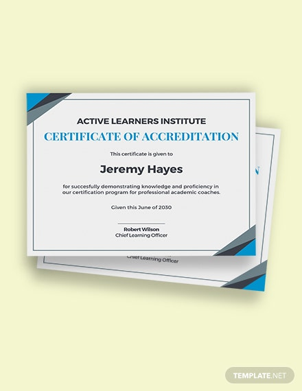 Free Academic Coaching Certificate Template