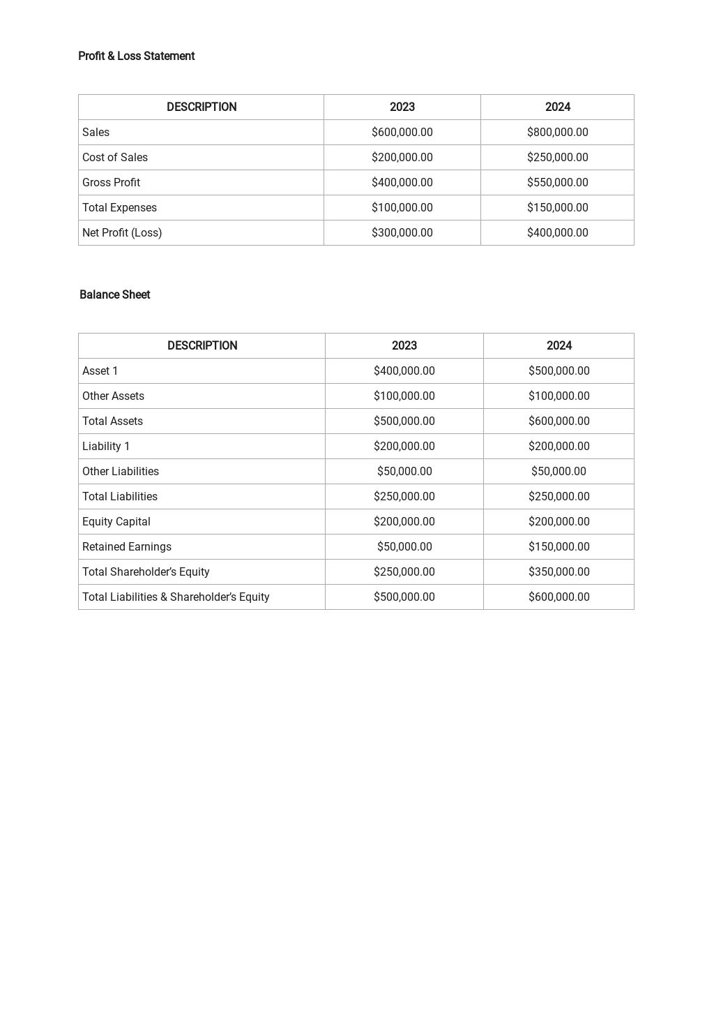 Free Financial Analysis Template 2.jpe